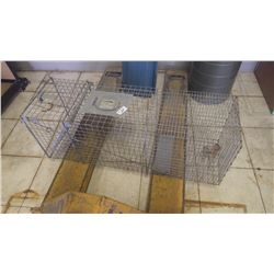1 Little Giant live animal trap