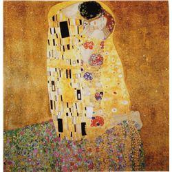 Lithograph Klimt - The Kiss