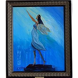 "Oil on Canvas ""Angel of Peace"" by Sergey"