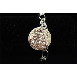 Beautiful T & Co. Silver Bracelet (16M)
