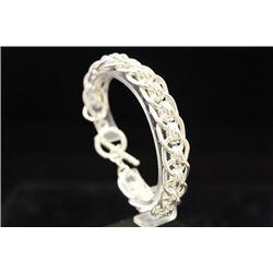 Exquisite Chic Silver Bracelet (18M)