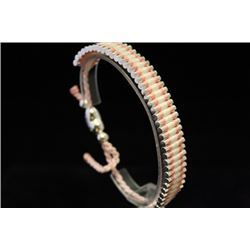 Dazzling Links London Pink & White Silver Bracelet (59M)