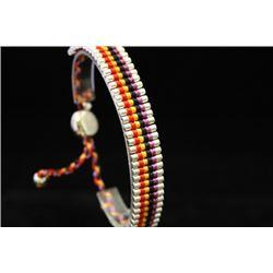 Stunning Links London Red, Yellow, Black & Purple Silver Bracelet (76M)