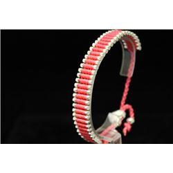 Lavish Links London Pink Silver Bracelet (78M)