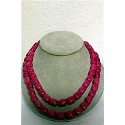 PINK AGATE NECKLACE