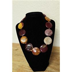 Amethyst and Tiger Eye Agate Necklace