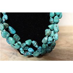 Turquoise Nevada Blue Necklace