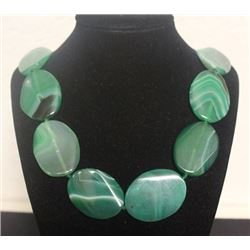 Beautiful Jade Necklace (5ZF)