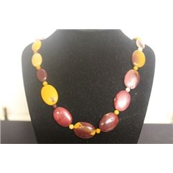 Fancy Tiger Eye Necklace (8ZF)