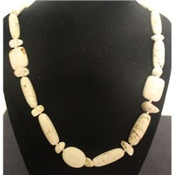 Fancy Puka Shell Necklace (41ZF)