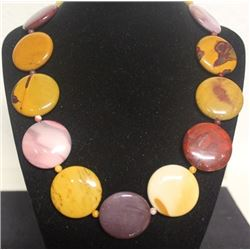 Fancy Mookaite Necklace (45ZF)