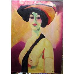 Kees Van Dongen - Bella Gisselle Oil on Canvas
