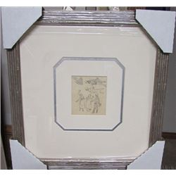 Hand Signed Authentic Drawing Ludovic Rodo Pissarro - Untitled