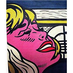 Roy Lichtenstein - Happy 1968 Oil