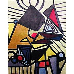 Lee Krasner - Composition 1933 Oil