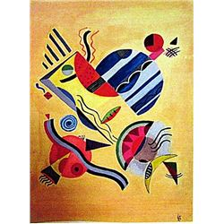 Wassily Kandinsky - Composition 1941 Watercolor