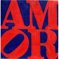 Robert Indiana - Love No 10 1969 Oil