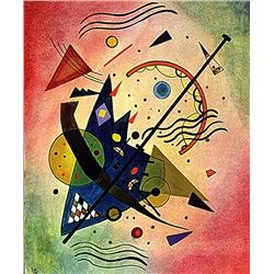 Wassily Kandinsky - Composition 1910 Oil