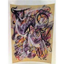 Robert Matta - The Universe Watercolor