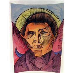 Umberto Boccioni - Mr Stephan Watercolor