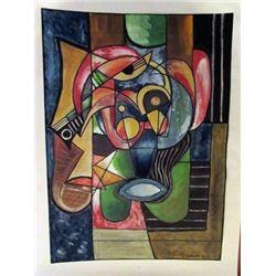 Mario Carreno - Composition Watercolor