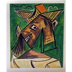 Pablo Picasso - The Fisherman Watercolor