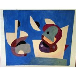 Leroy Turner - Composition Watercolor