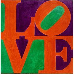 Robert Indiana - Love No 9