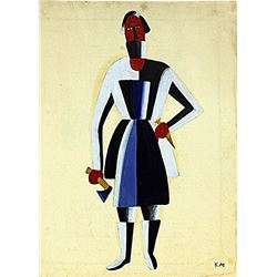 Kazimir Malevich - Carpenter