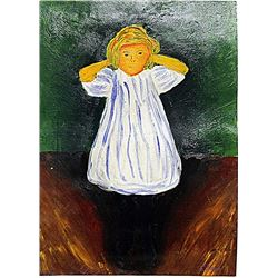 Edvard Munch - The Child