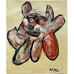 Karel Appel - The Dog