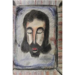Jesus - Georges Rouault - Pastel on paper