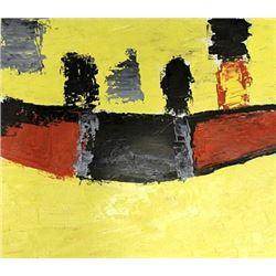 Agrigente - Nicolas De Stael - Oil On Paper