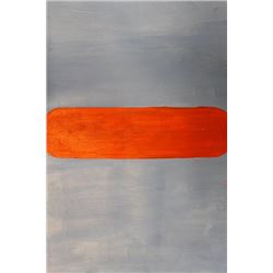 Blue Red - Ellsworth Kelly - Oil On Paper