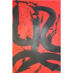 Spain - Robert Motherwell - Oil On Paper