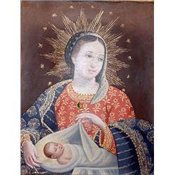 Holy Trinity - Oil On Canvas