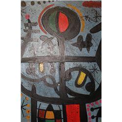 Two Boys Playing - Joan Miro