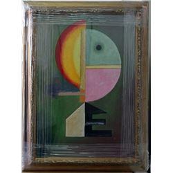 Signed Oil Wassily Kandinsky