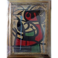 Signed Oil Joan Miro
