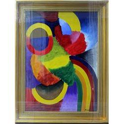 Signed Robert Delaunay