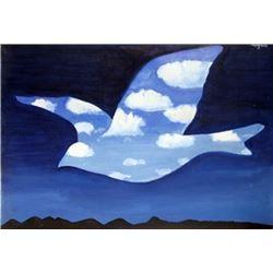 Signed Rene Magritte