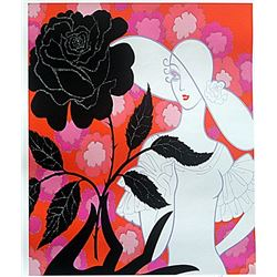 Signed Limited Edition Erte Lithograph
