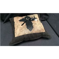 Swede Leather Pillow