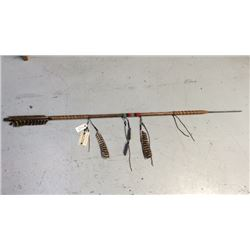 Throwing Arrow By Many Trails Chippewa Cree 56''l