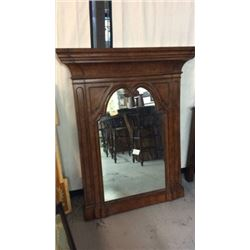 Large 49''w X 59''t Mirror By Century