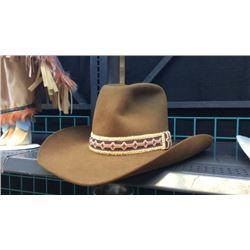 Stetson 4x Beaver Brown Cowboy Hat 7