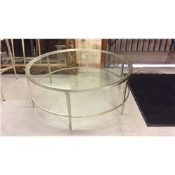 Century Silver Leaf Coffee Table