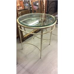 Century Siver Leaf Cocktail Table