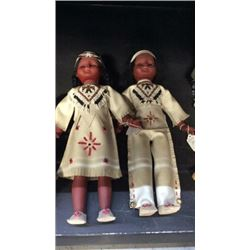 2 Native American Dolls