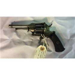 Early Pin Fire Revolver